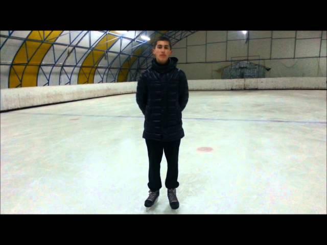 Как научиться кататься спиной вперед | Ice skating | HealgiZemp |3