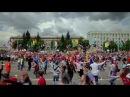 Флэшмоб по-русски - 2. СИБИРСКИЙ ХОРОВОД (Russian style flash mob from Siberia)