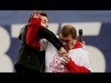 Спортивный  комментатор избил фаната болельщика Спартака на Матче: Спартак - Динамо  подрался