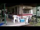 USA КИНО 127. Семейный лагерь на севере Мичигана. Американские дома на колесах.