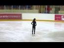 Polina Tsurskaya, FS at practice, Russian Juniors 2014