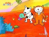Poppy Cat Cartoon Umbrella Dance