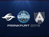 Team Secret vs Alliance | ESL One Frankfurt 2015
