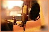 Запись низкого и высокого дикторского голоса