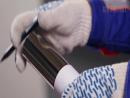 Резка трубы своими руками при изготовлении перил из нержавеющей стали без сварки