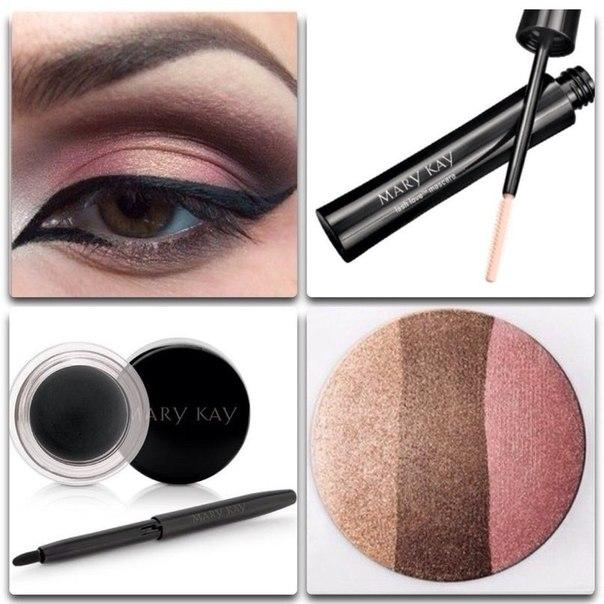 Шикарный макияж для голубых глаз