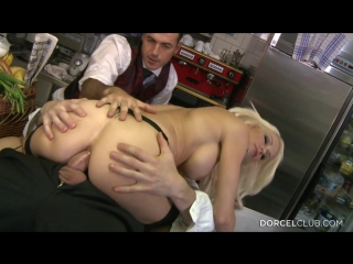 Stacy silver - stacy, busty blond have anal sex in the kitchens (2015) hd