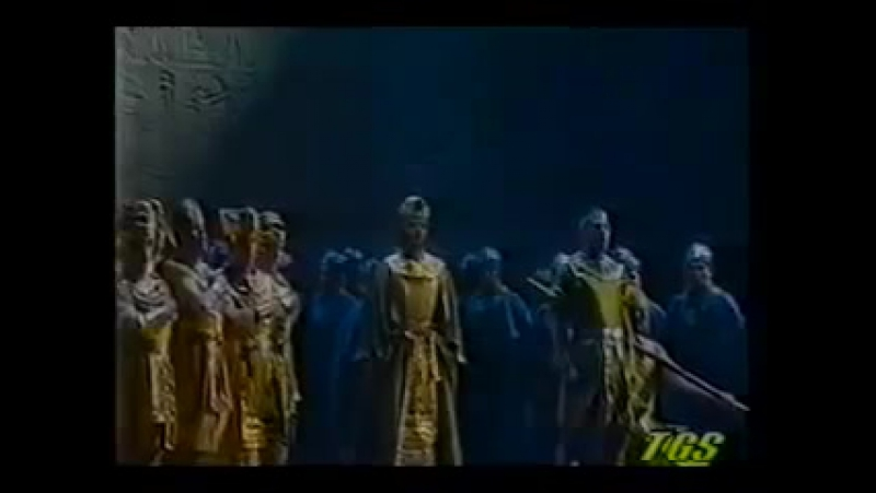 Jose Cura 1998 Aida -Ah! Sien grazie at Numi! ... Su! del Nilo al sacro lido-Palermo