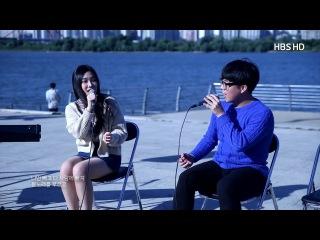 [COVER] 일반인 고등학생이 부른 봄 사랑 벚꽃 말고-HIGH4,아이유 버스킹 영상