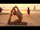 Sexy Zap training on Arambol beach Goa
