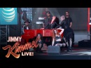 Jamie Foxx - You Changed Me (ft. Chris Brown) @ Jimmy Kimmel Live