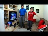 jc e o filho dançando