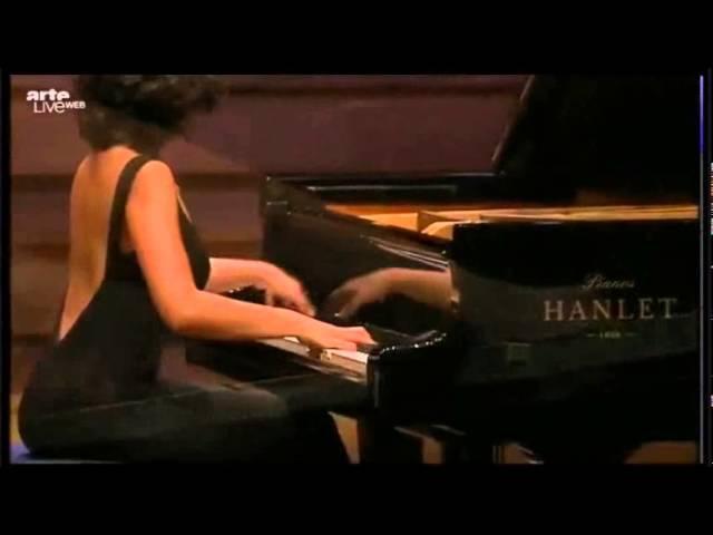 KHATIA BUNIATISHVILI PLAYS CHOPIN SONATA Nº2 Op 35 LIVE 2013 full