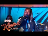 Fetty Wap & Phony Ppl - Trap Queen (Live On Jimmy Kimmel)
