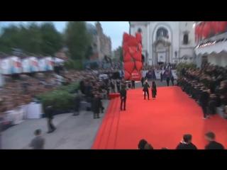 Dakota Johnson Premier Black Mass Venecia / 1