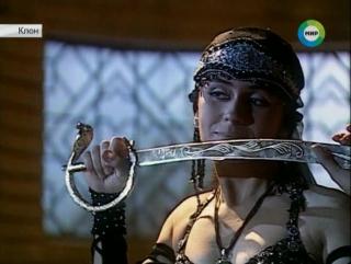 24 Первый танец Жади для Саида с саблей в черном (Клон 24 серия)