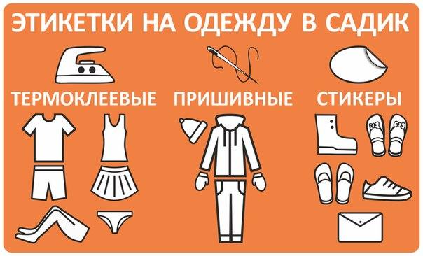Чем подписать одежду в