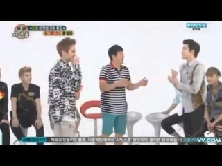 130814 Weekly Idol EXO] Girl Group Dance Cut 엑소 @ 주간 아이돌 MultinetworkTGS