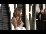 Oscars 2015 - Jennifer Lopez looks GORGEOUS at Vanity Fair Oscar party