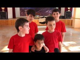 Детский народный хореографический ансамбль «Кавказ» приехал домой с победой.
