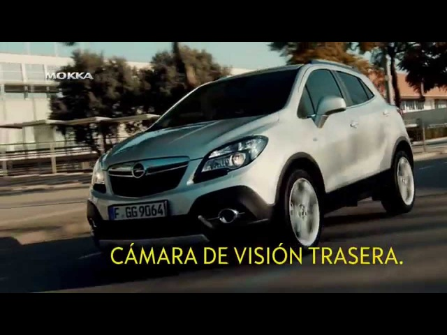 Anuncio Opel Mokka 2015 Cámara Trasera