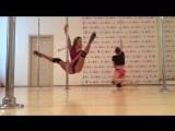 Daria Che /Дарья Чеботова/ -  Exotic Pole Dance!