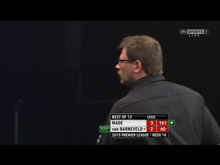 James Wade v Raymond van Barneveld (2015 Premier League Darts / Week 14)