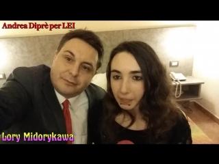 Ragazza che si ciba di solo sperma incontrata da Andrea Diprè.