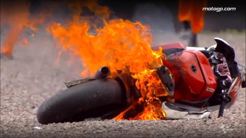 MotoGP crash compilation