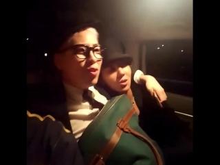 drunk Mino WINNER with P.O. BLOCK B