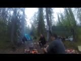 Лагерь на Пане, ужин часа в 3 ночи