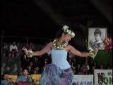 Miss Aloha Hula 2001 Natasha Oda Auana