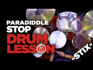 Paradiddle Stop - Drum Lesson - Ariana Grande