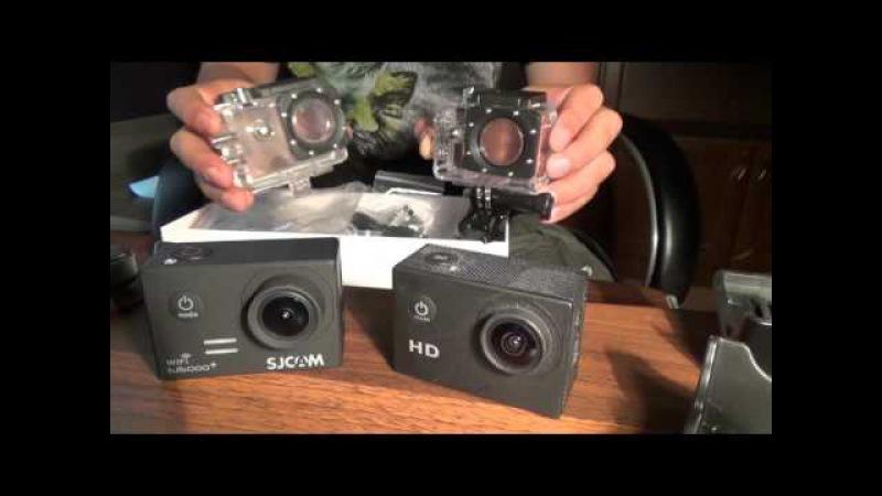 Экшн камера sjcam5000WIFI и sj4000 - сравнение и обзор
