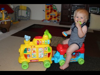 VTech Sit-to-Stand Alphabet Train Playtime Review