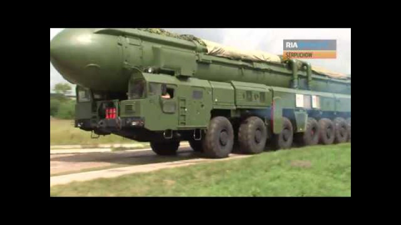 Topol-M: Russische strategische Atomrakete am Start