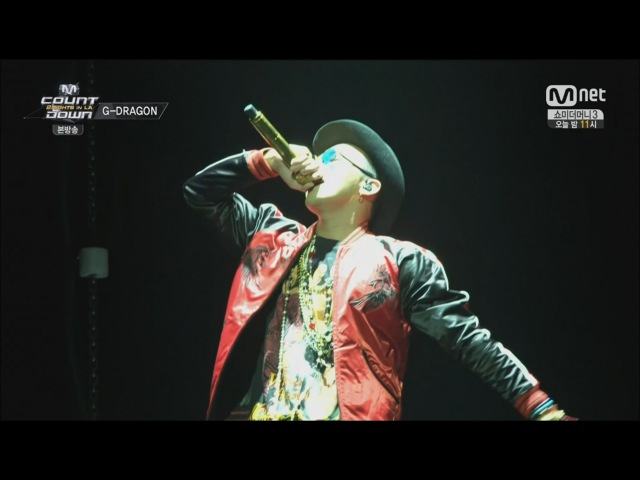 G-DRAGON - ONE OF A KIND 0814 Mnet K-CON 2014