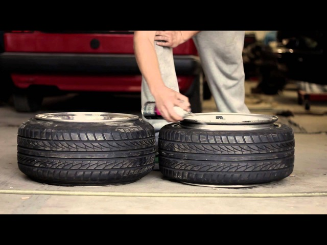 How to stretch a tire... and how you don't.