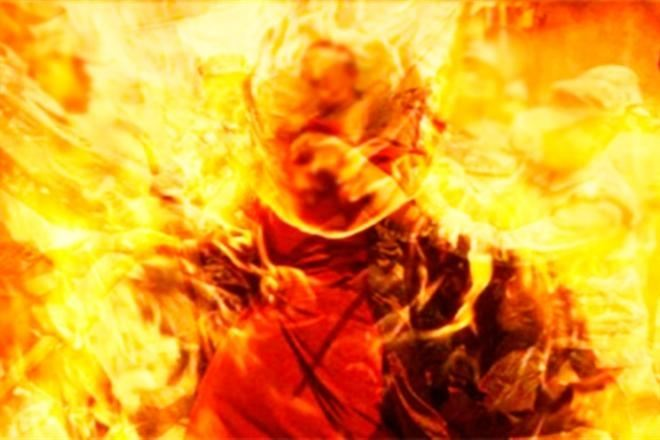В Таганроге мужчина-суицидник хотел себя сжечь