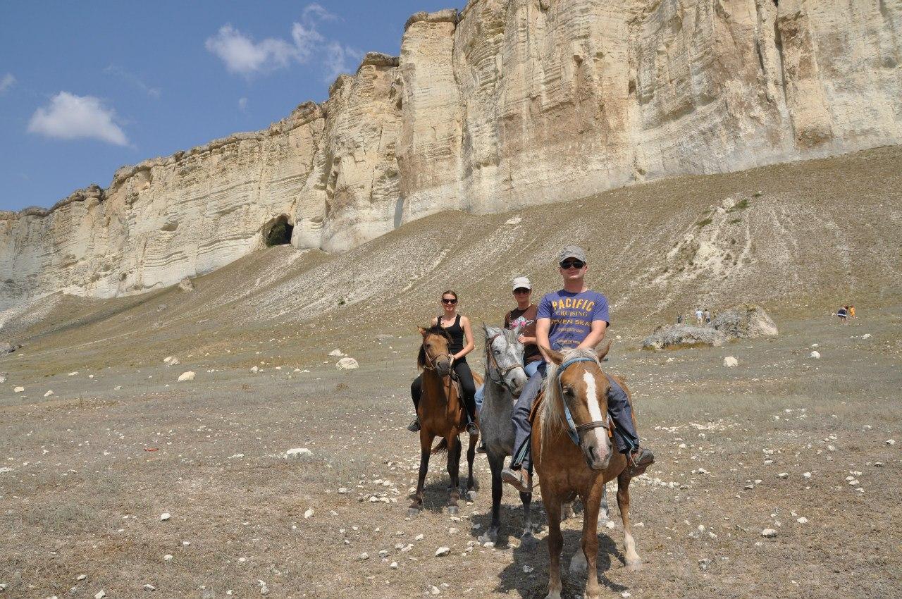 ковбои на Белой скале