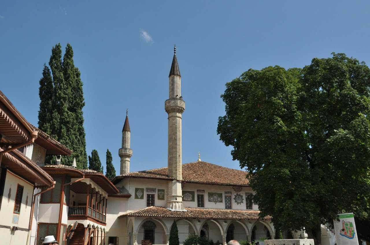 Бахчисарайский Хан сарай - мечеть