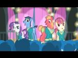 My little pony(Милая пони) 4 сезон 14 серия русская озвучка GALA Voices игра мир пони самая классная  игра в мире аха