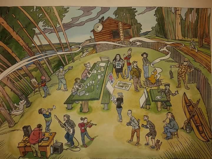Иллюстрация Павла Зарослого (Ярославль)