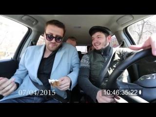 Таксист Русик и пьяный пассажир 2