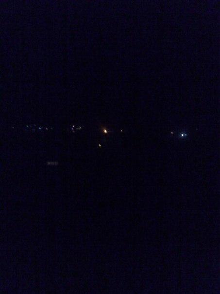 Что горело в 23:50 за прудом?