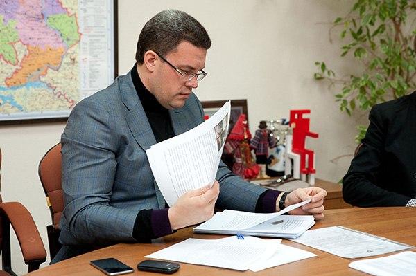 Сити-менеджер Ижевска Денис Агашин