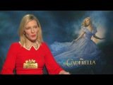Cate Blanchett, Lily James, Richard Madden - Cinderella Interviews (MADE IN HOLLYWOOD)