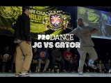 JAYGEE VS GATOR | UK B-Boy Championships 2014 - Popping Quarter Final