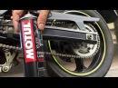 Motorcycle Chain Maintenance with Motul