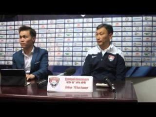 Степные волки представляют прессконференцию после матча Кайсар-Астана,Огай.Д.А